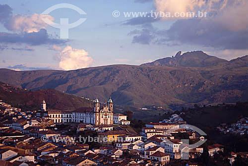 Museu da Incofidência e Igreja de Nossa Senhora do Carmo (1) - Ouro Preto (2) - MG - Brasil(1) A igreja é Patrimônio Histórico Nacional desde 20-04-1938.(2) A cidade de Ouro Preto é Patrimônio Mundial pela UNESCO desde 05-09-1980.  - Ouro Preto - Minas Gerais - Brasil