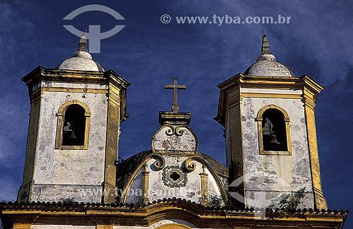 Igreja de Nossa Senhora das Mercês de Baixo -  Ouro Preto - Minas Gerais - Brasil A cidade de Ouro Preto é Patrimônio Mundial pela UNESCO desde 05-09-1980.  - Ouro Preto - Minas Gerais - Brasil