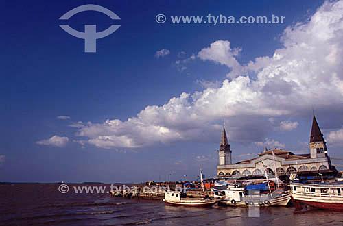 Mercado Ver-o-Peso - Belém - PA - Brasil  O mercado Ver-o-Peso criado em 1688 é hoje o principal ponto turístico de Belém; é Patrimônio Histórico Nacional desde 09-11-1977 e o tombamento inclui as áreas adjacentes ao conjunto Ver-o-Peso.  - Belém - Pará - Brasil