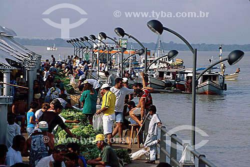 Mercado Ver-o-Peso  - Belém - PA - Brasil / Data: 2008