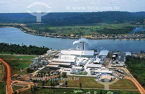 Assunto: Fábrica de celulose - Projeto Jari   / Local: Pará (PA) - Brasil / Data: 2005