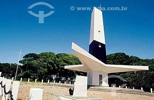 Farol do Cabo Branco (1972) - ponto mais oriental do Brasil  - João Pessoa - Paraíba - Brasil