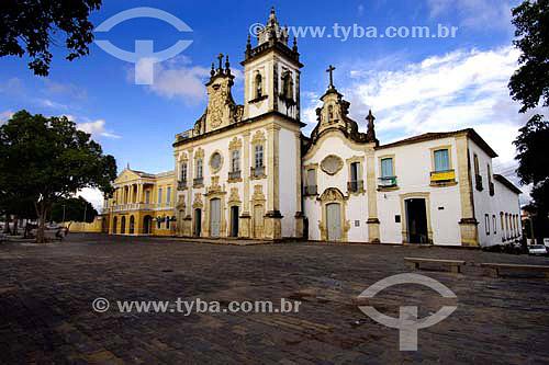 Praça Dom Adauto - Igreja Nossa Senhora do Carmo - João Pessoa - PB - Brasil - 05/2006  - João Pessoa - Paraíba - Brasil