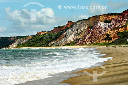 Praia de Tabatinga - Jacumã - PB - Brasil  - Conde - Paraíba - Brasil