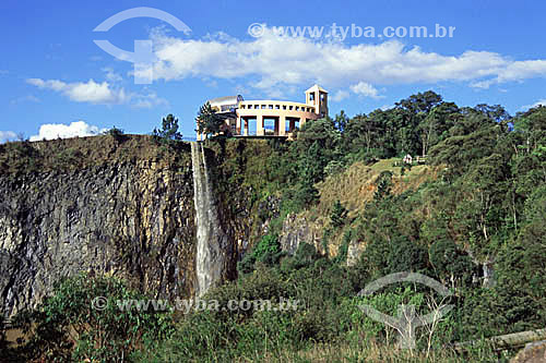 Cachoeira no Parque Tanguá - Curitiba -Paraná - 2002  - Curitiba - Paraná - Brasil