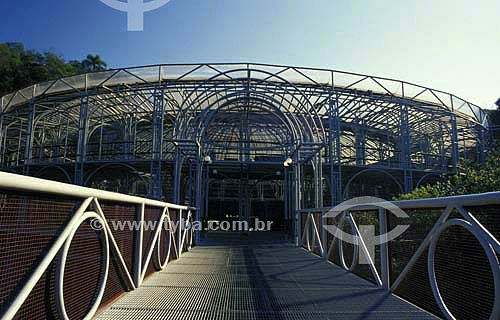 Teatro Ópera de Arame - Curitiba - Paraná - Brasil - Agosto de 2001  - Curitiba - Paraná - Brasil