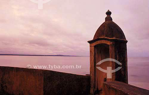 Fortaleza de Nossa Senhora dos Prazeres - Ilha do Mel - Paraná - Brasil - Agosto de 2000  - Paranaguá - Paraná - Brasil