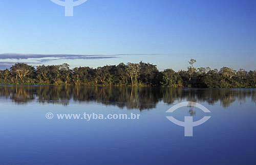 Amanhecer - Parque Nacional de Ilha Grande - Paraná - Brasil - Abril de 2004  - Paraná - Brasil