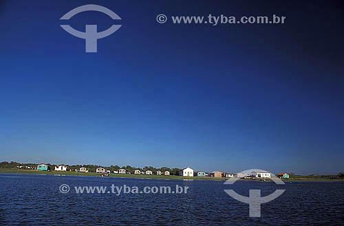 Vilarejo - Ilha das Peças - Paraná - Brasil  - Paranaguá - Paraná - Brasil