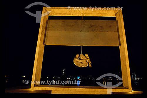 Monumento Tortura Nunca Mais - Recife - PE - Brasil  - Recife - Pernambuco - Brasil