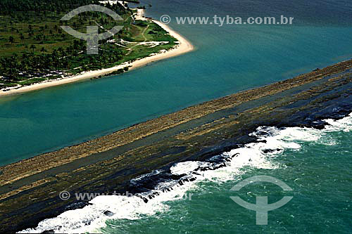 Praia de Muro Alto - PE - Brasil  - Ipojuca - Pernambuco - Brasil