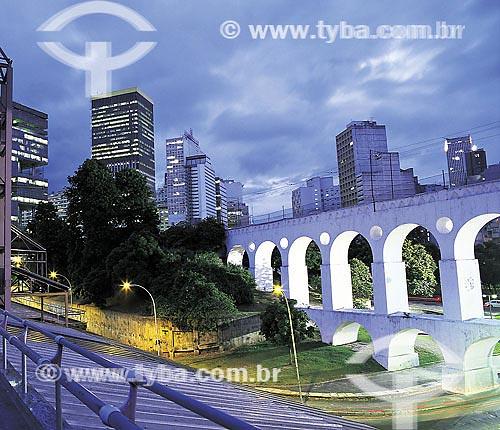 Arcos da Lapa - centro do Rio de Janeiro - RJ  - Rio de Janeiro - Rio de Janeiro - Brasil