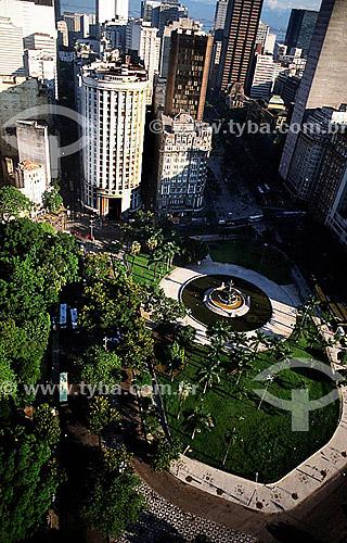 Praça Mahatma Ghandi - Centro do Rio de Janeiro - RJ - Brasil  - Rio de Janeiro - Rio de Janeiro - Brasil