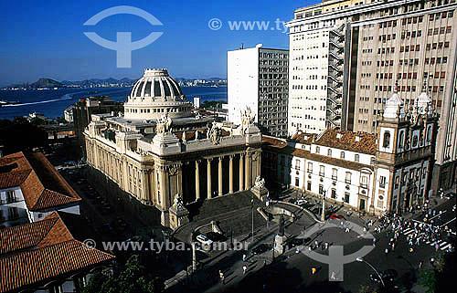 Assembléia Legislativa (Palácio Tiradentes) - centro do Rio de Janeiro - RJ - Brasil / Data: 2008  O Palácio é Patrimônio Histórico Nacional desde 10-03-1993.