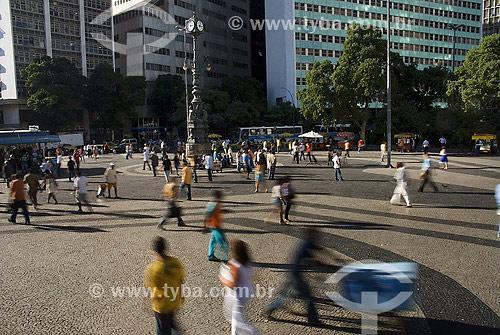 Assunto: Largo da Carioca - centro da cidade / Local: Rio de Janeiro (RJ) - Brasil / Data: 02/2008