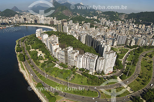Morro da viúva - Aterro - Praia do Flamengo - Rio de Janeiro - RJ - Brasil  - Rio de Janeiro - Rio de Janeiro - Brasil