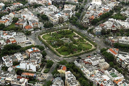 Vista aérea do Pomar da Barra - Barra da Tijuca - Rio de Janeiro - RJ - Brasil - 2006  - Rio de Janeiro - Rio de Janeiro - Brasil