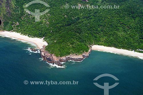 Vista aérea de Praias desertas próximo a Guaratiba - Rio de Janeiro - RJ - Brasil - Janeiro de 2008  - Rio de Janeiro - Rio de Janeiro - Brasil