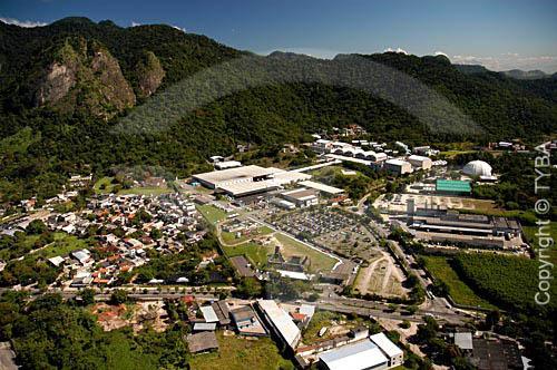 Vista aérea do PROJAC (Estúdios da Rede Globo de Televisão) - Barra da Tijuca - Rio de Janeiro - RJ - Brasil  foto digital  - Rio de Janeiro - Rio de Janeiro - Brasil