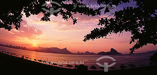 Rio de Janeiro visto de Niterói - RJ - Brasil  - Rio de Janeiro - Rio de Janeiro - Brasil