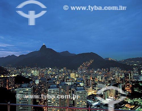 Vista de Botafogo a partir do condomínio Morada do Sol - Rio de Janeiro - RJ   - Rio de Janeiro - Rio de Janeiro - Brasil