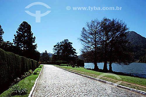 Granja Comary  - Teresópolis - Região serrana do estado do Rio de Janeiro - RJ - Brasil Condomínio é de propriedade particular, o local é famoso por ser área de concentração e treinamento da Seleção Brasileira de Futebol.  - Teresópolis - Rio de Janeiro - Brasil