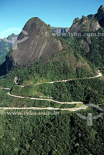 Rodovia Rio-Teresópolis (BR-116) - Região serrana do estado do Rio de Janeiro - RJ - Brasil / Data: 2006