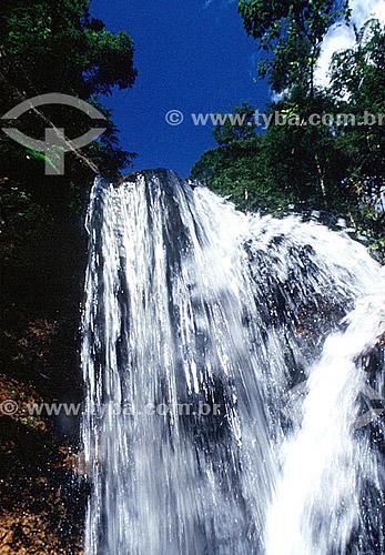 Cachoeira na Serra dos Orgãos - Teresópolis - Região serrana do estado do Rio de Janeiro - RJ - Brasil / Data: 2008