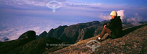 Cume da Pedra do Sino - Serra dos Orgãos - Teresópolis - RJ - Brasil  - Teresópolis - Rio de Janeiro - Brasil