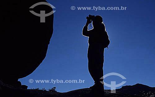 Guarda florestal - Parque Nacional de Itatiaia - Itatiaia - RJ - Brasil  - Itatiaia - Rio de Janeiro - Brasil