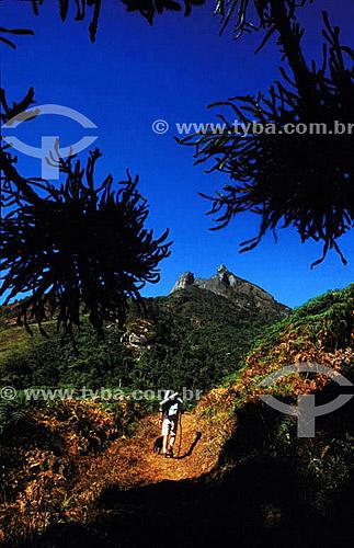 Esporte - trekking - Pedra Selada - Serra da Mantiqueira - RJ - Brasil  - Itatiaia - Rio de Janeiro - Brasil