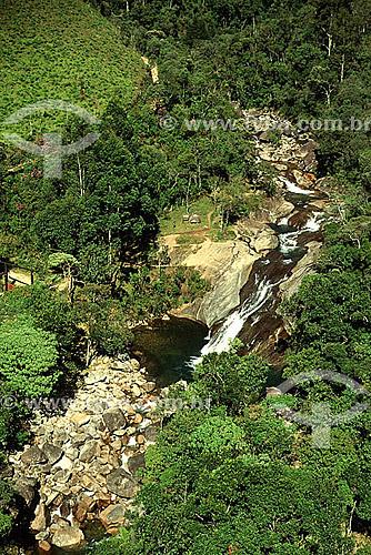 Cachoeira do Escorrega - Mauá - RJ - Brasil  - Mauá - Rio de Janeiro - Brasil