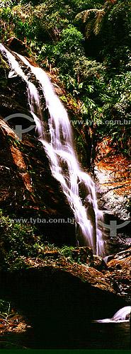 Cachoeira no Vale das Cruzes em Visconde de Mauá - RJ - Brasil  - Mauá - Rio de Janeiro - Brasil