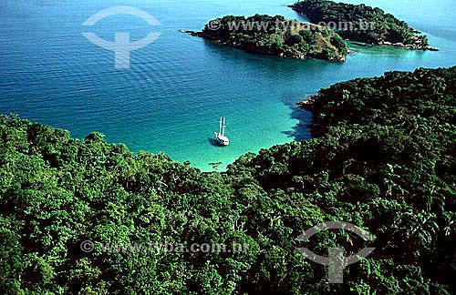 Saco da Frequesia de Santana - Ilha Grande - APA dos Tamoios - Baía de Angra dos Reis - Costa Verde - RJ - Brasil  - Angra dos Reis - Rio de Janeiro - Brasil