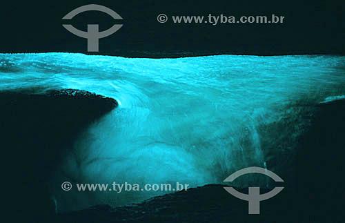 Águas na Gruta do Acaiá  - Ilha Grande - APA dos Tamoios - Baía de Angra dos Reis - Costa Verde - RJ - Brasil  - Angra dos Reis - Rio de Janeiro - Brasil