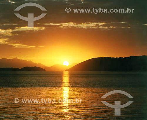 Amanhecer em Parati - Rio de janeiro - RJ - Brasil  - Paraty - Rio de Janeiro - Brasil