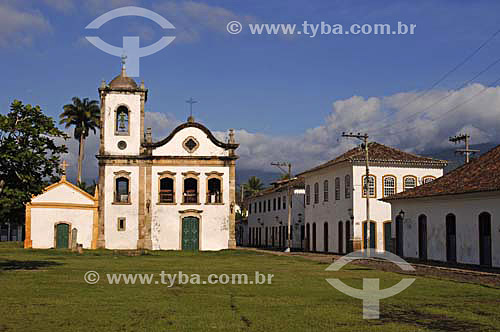 Igreja de Santa Rita - Paraty - RJ - Brasil  - Paraty - Rio de Janeiro - Brasil