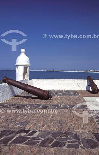 Forte São Matheus, construído em 1617 - Costa do Sol -  Região dos Lagos - Cabo Frio - RJ - Brasil. Data: Março de 2008  Patrimônio Histórico Nacional desde 05-10-1956.
