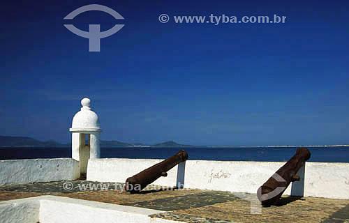 Forte São Matheus, construído em 1617 - Cabo Frio - RJ - Brasil  Patrimônio Histórico Nacional desde 05-10-1956. Data: Março de 2008