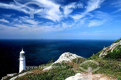 Farol Novo - Ilha do Farol - Arraial do Cabo - RJ - Brasil  - Cabo Frio - Rio de Janeiro - Brasil