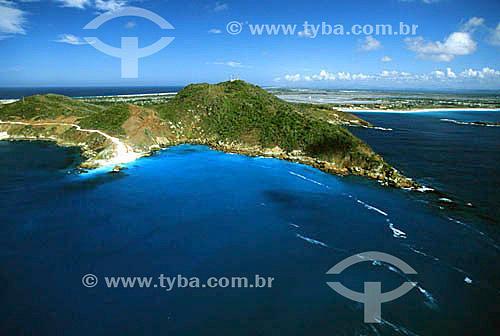 Costão de Arraial do Cabo - Costa do Sol - Região dos Lagos - RJ - Brasil  - Cabo Frio - Rio de Janeiro - Brasil
