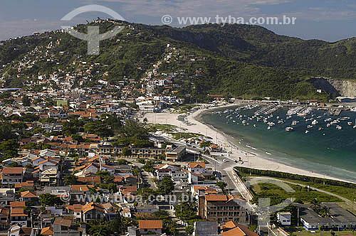 Praia dos Anjos - Arraial do Cabo - Região dos Lagos - Litoral norte do Rio de Janeiro - Brasil - Março 2005  - Cabo Frio - Rio de Janeiro - Brasil