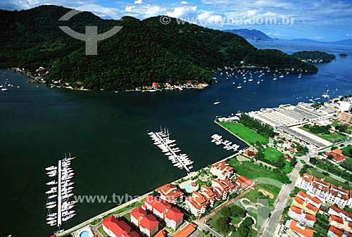 Vista aérea de Itacuruçá, cerca de 80 km ao sul da cidade do Rio de Janeiro - RJ - Brasil  - Mangaratiba - Rio de Janeiro - Brasil