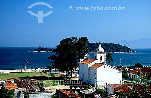 Igreja do Rosário - Núcleo Histórico de Mambucaba -  BR-101, Rio-Santos - RJ - Brasil  - Rio de Janeiro - Brasil