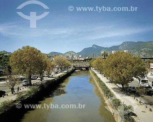 Canal do Mangue na Avenida Francisco Bicalho - Centro do Rio de Janeiro - RJ - Brasil  - Rio de Janeiro - Rio de Janeiro - Brasil