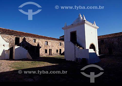Forte dos Reis Magos  - RN - Brasil  O Forte, atualmente, funciona como Museu de Artes Populares e é Patrimônio Histórico Nacional desde 13-05-1949.  - Natal - Rio Grande do Norte - Brasil