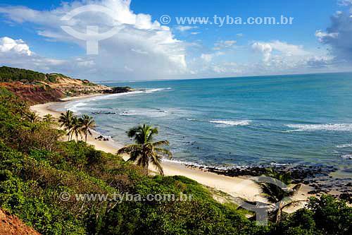 Praia do Amor e do Moleque - Tibau do Sul - RN - Brasil - 05/2006  - Tibau do Sul - Rio Grande do Norte - Brasil