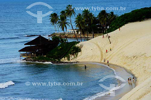 Praia de Genipabú - Extremóz - RN - Brasil - 05/2006  - Extremoz - Rio Grande do Norte - Brasil