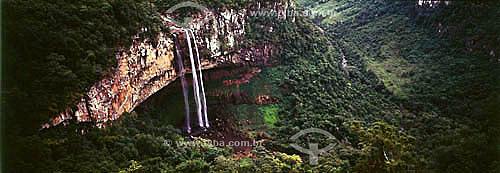 Cachoeira do Caracol - Canela - RS - Brasil  - Canela - Rio Grande do Sul - Brasil
