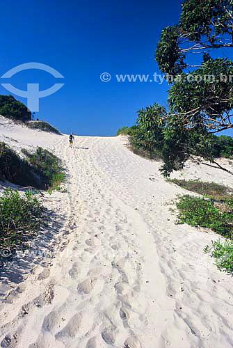 Dunas - praia de Moçambique - Florianópolis - Santa Catarina - Brasil - Junho 2003  - Florianópolis - Santa Catarina - Brasil